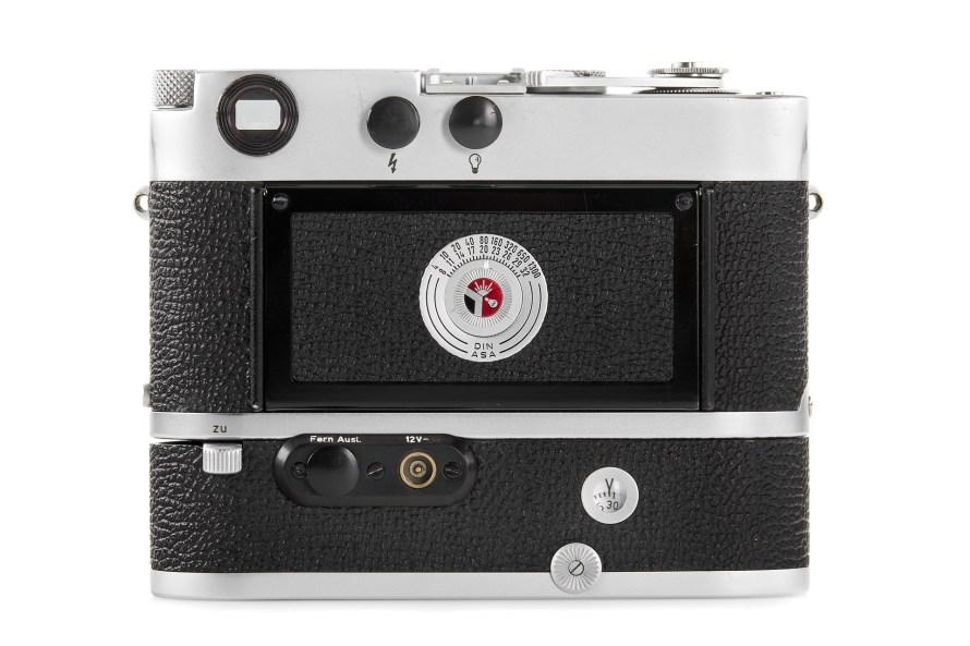 102. tétel: Leica MP2 chrome + Electric Motor