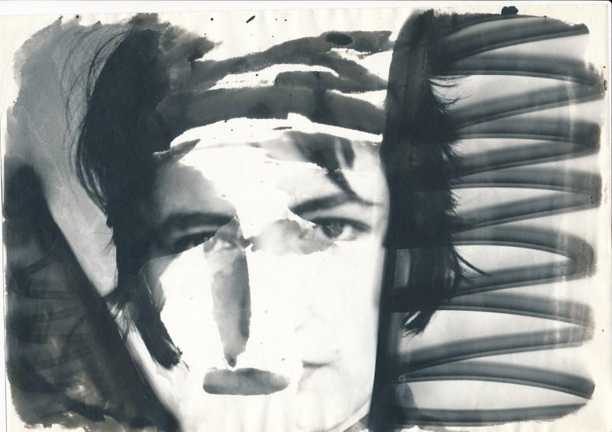 Fotó: <b>Eperjesi Ágnes</b>: Hazatérés, részlet, 1988<br> zselatinos ezüst nagyítás lokális előhívással, 29x21 cm egyenként