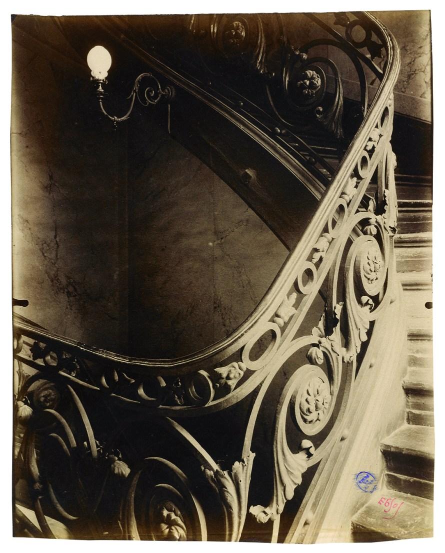 Fotó: <b>Eugène Atget</b>: Ancien hôtel Sully-Charost, 11, rue du Cherche-Midi, VIe, 1904<br> © Paris Musées / musée Carnavalet – Histoire de Paris