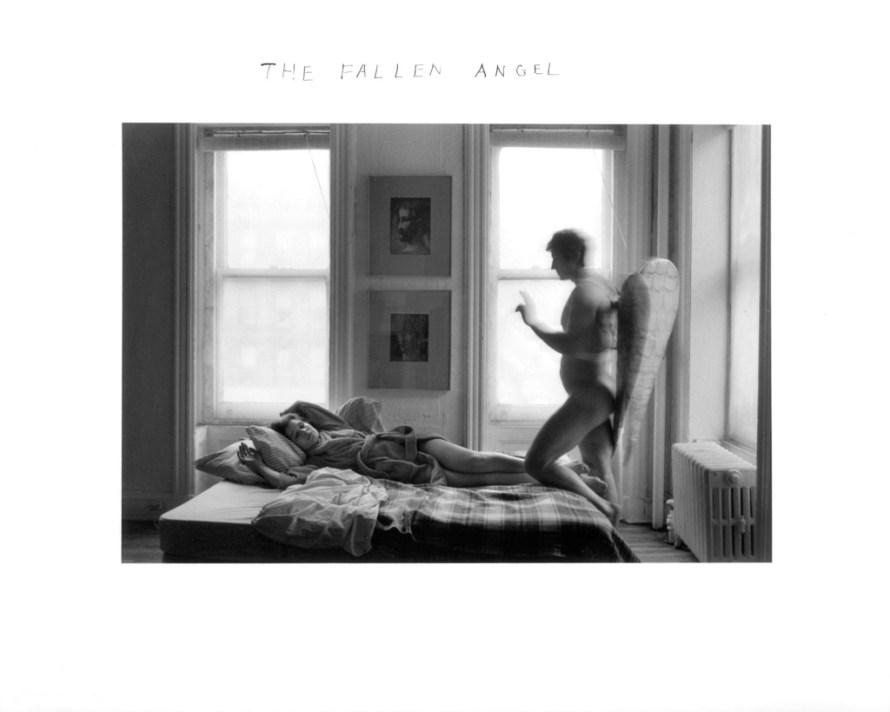 Fotó: <b>Duane Michals</b>: The Fallen Angel, 1968<br> © Duane Michals. Courtesy of DC Moore Gallery, New York