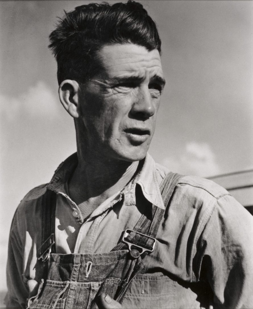 Fotó: Horace Bristol (1908–1997)<br> The Grapes of Wrath #2, 1938<br> gelatin silver print, Amon Carter Museum of American Art, Fort Worth, Texas, Bequest of Finis Welch, © Horace Bristol Estate