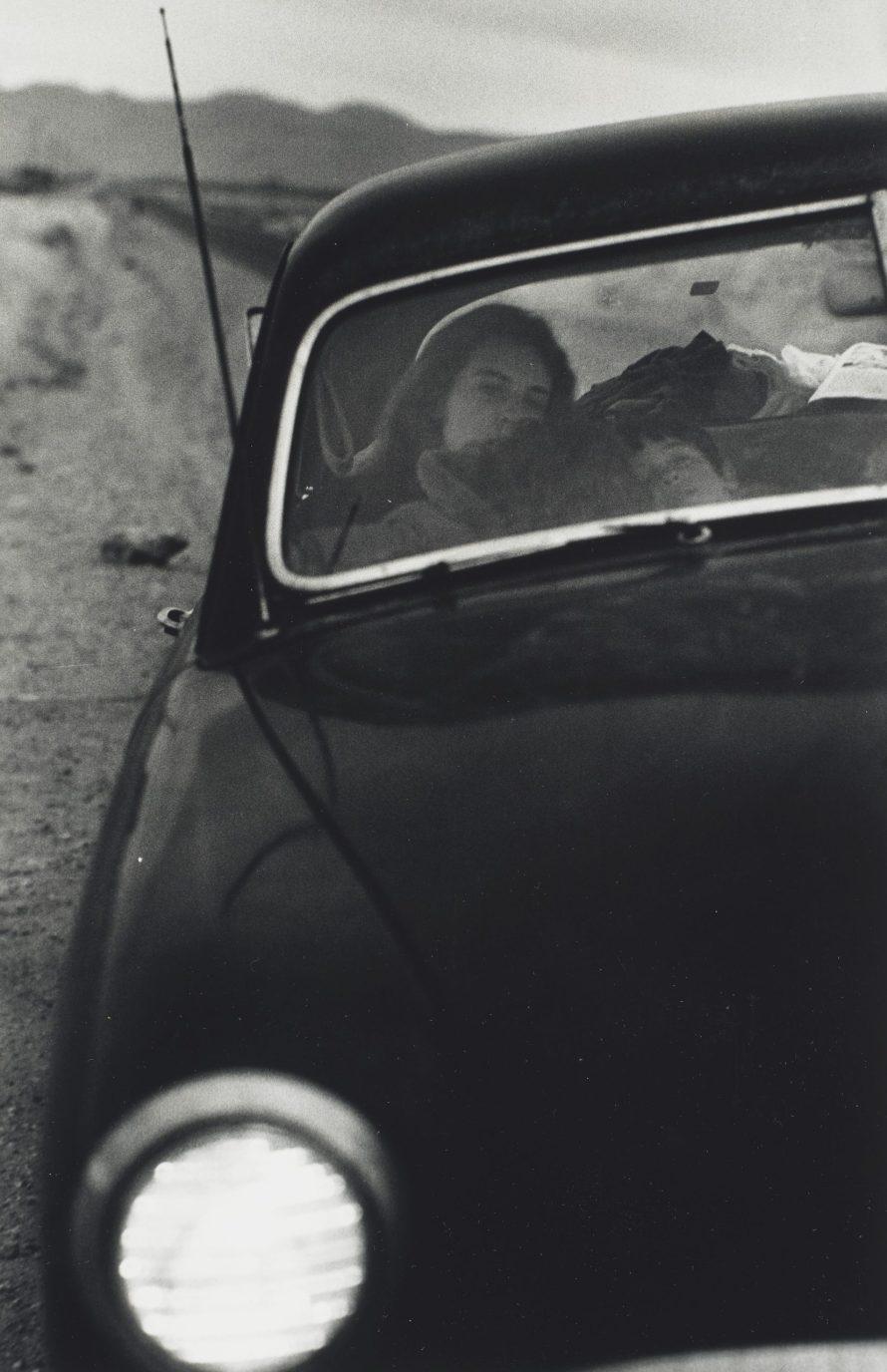 Fotó: Robert Frank: U.S. 90, En Route to Del Rio, Texas, 1955