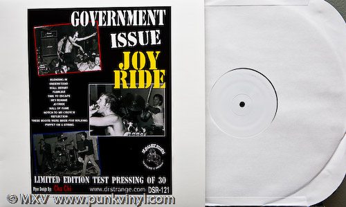 This GI test pressing could be yours if you win!