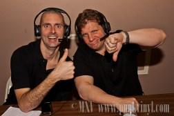 Dr. Keith and Nova (the announce team)