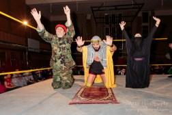 The Almighty Sheik vs. Chris Hall
