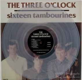 The Three O'Clock clear vinyl