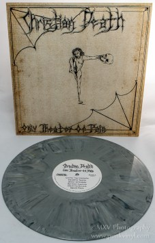 Christian Death - Only Theater of Pain gray marble vinyl