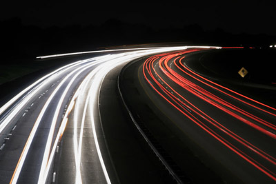 Rt 83 at night by MXV