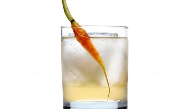 Melting olaf Winter cocktail
