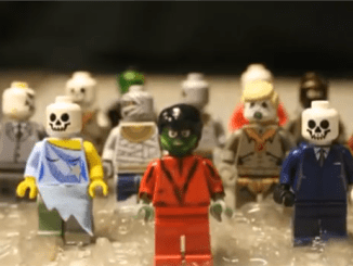 Watch Michael Jackson's Thriller made with LEGO. An awesome remake of this spooky classic that will excite the youngest kid at heart.