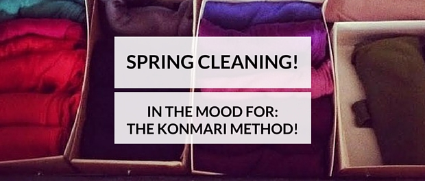 """Marie Kondo's revolutionary technique, (the KonMari Method) is basically that we should get rid of 50-75% of what we own, and only keep the things that """"spark joy."""" The KonMari Method is, apparently, super popular in Japan"""