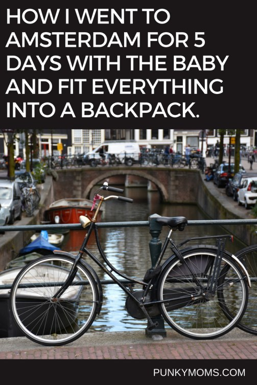 Travelling with a baby doesn't need to be difficult. Read how Paula took her baby on a trip to Amsterdam and packed light with only one bag. Competitive packing at it's finest. She stripped down to essentials and had a few tricks up her sleeve to make travelling with a child to Amsterdam actually really fun.