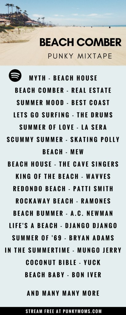 Summertime Songs is a rad mixtape on our Spotify station. Get ready for the beach & sun. This playlist will set the background for the best summer ever.