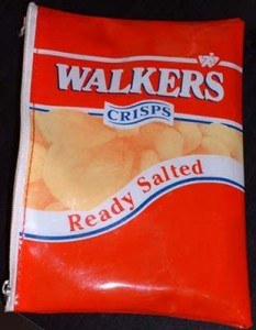 Walkers Crisps Pencil Case
