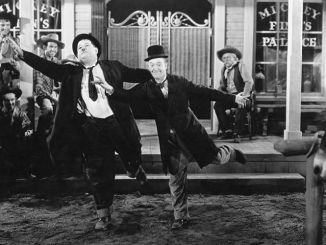 laurel and hardy dancing to morriseey