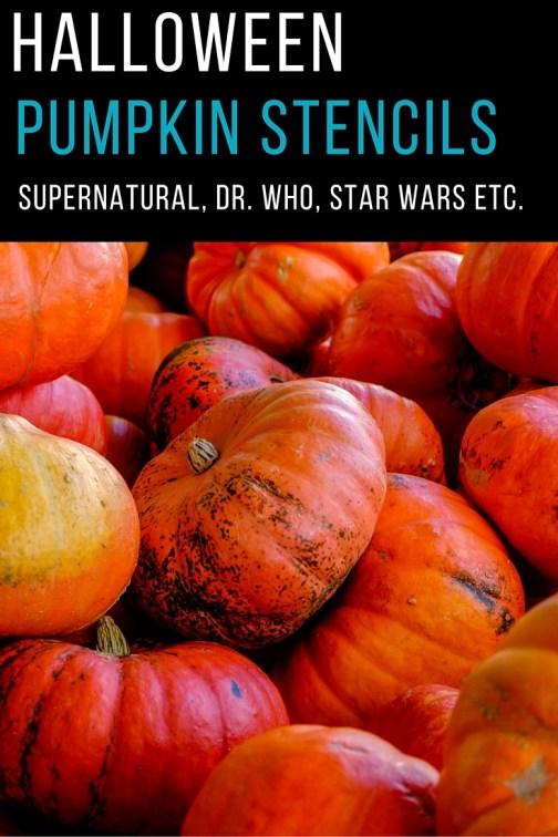 Supernatural Stencils, Dr. Who Pumpkin Designs, Halloween stencil ideas
