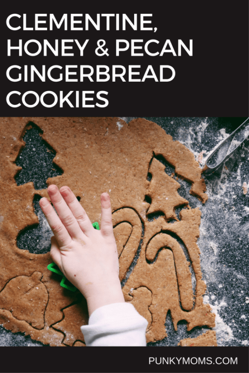 You have to try these gingerbread cookies! The recipe is pretty simple enough. You can make handmade ornaments with them or for the love of Christmas, eat them!