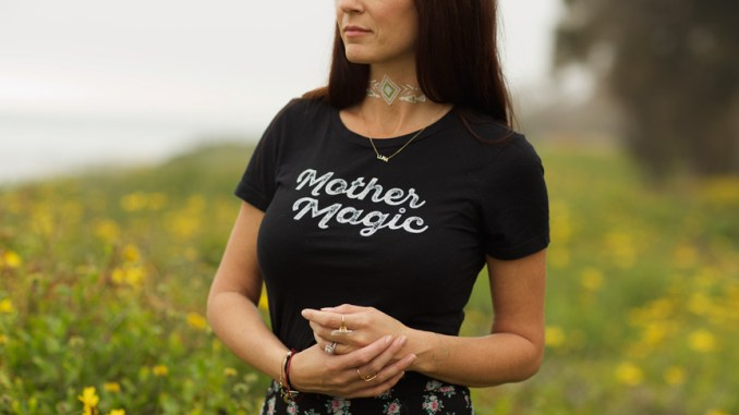 Mother magic Tshirt from Mother Sun and the Captain - The Ultimate Punky Moms Mama Merch Gift Guide - Mother's Day - Gifts For Her
