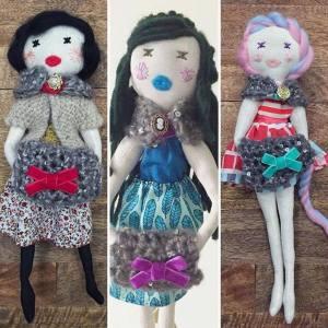 Creative Mothers Feature - Handmade Dolls from Bird Hearts Bear