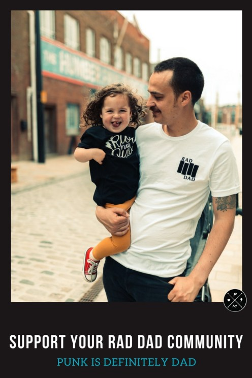It is time to support other dads! How do you balance work life and parenting? How has your life changed since becoming a dad? The Punky dad facebook group is a place for fathers (new, old or otherwise) to learn to be better: people, dads, partners and humans.