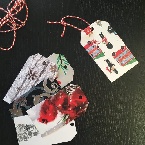 Recycling your old Christmas cards every year into fun DIY decorations is a win win. You get unique and meaningful decor and help save the world.