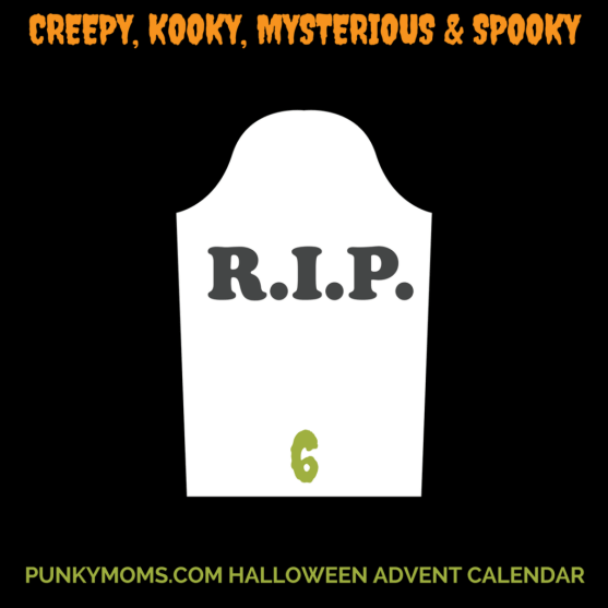 Addams Family Giveaway - Punky Moms Halloween Advent Calendar