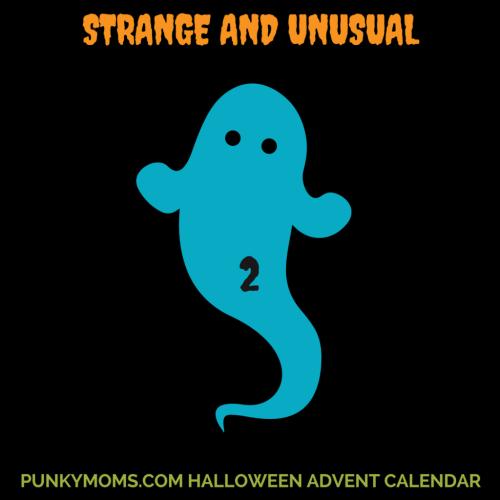 STRANGE & UNUSUAL - punky moms halloween advent calendar