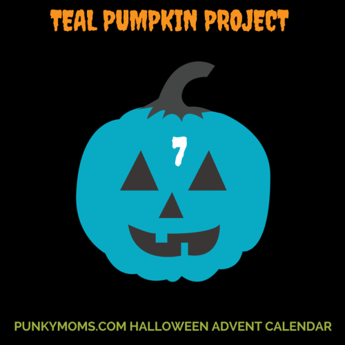 The Teal Pumpkin Project - Allergy Alternatives For Children for Trick or Treating