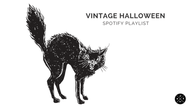 Witches and black cats. Ghosts and goblins. Spiders and webs. All perfect pairs. Another perfect pair? 50's rock n' roll and Halloween! Here's a playlist of some of the best Halloween songs from the 1950's. It's sure to make your bones rattle and give life to any zombie!