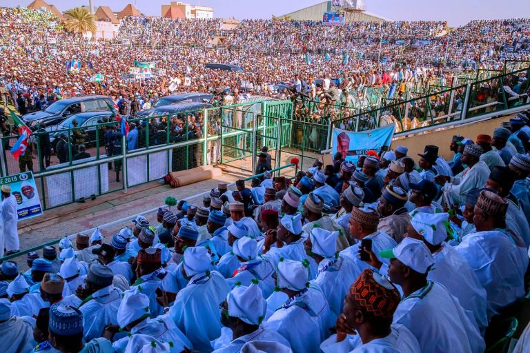 "INVESTIGATION: How APC, PDP ""rent crowd"" to fill up campaign venues"