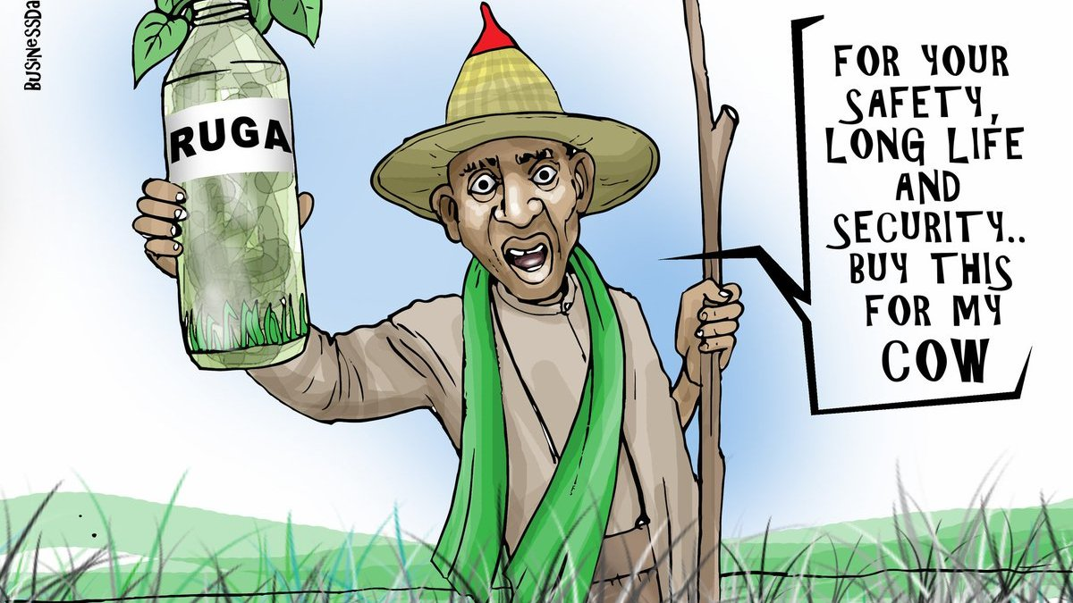 A Modest Proposal—on Ruga, Buhari's overdue foreign travel, and other matters