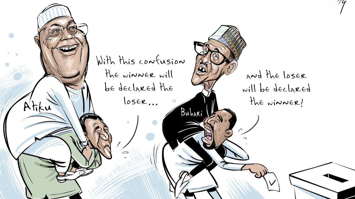 Democracy files for divorce. 'I'm leaving Nigeria for Dubai,' she says.