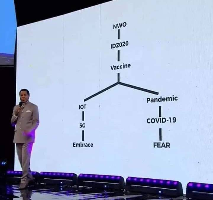 Dr Chris Oyakhilome unveils a new chemical compound