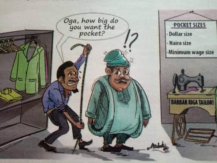 My soul magnifies in Nigerian politicians!