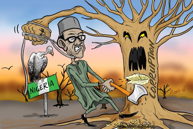 Baba's anti-corruption noise is no longer against flesh and blood