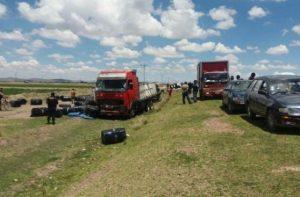Choque en vía Puno - Juliaca deja ocho muertos