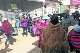 Familiares de choferes de convoy de la droga piden liberación