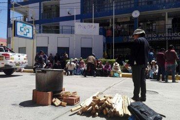 Transportistas de Puno anuncian paro para presionar salida de gerente