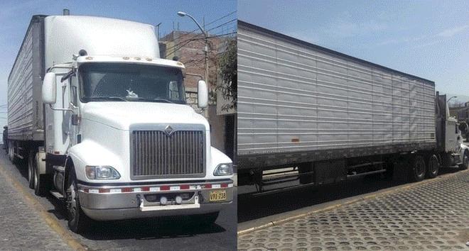 Policía interviene tráiler con 40 kilos de droga en vía Arequipa - Puno