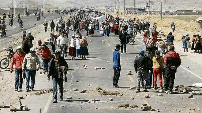 Conflictos ambientales marcaron Puno en 2018