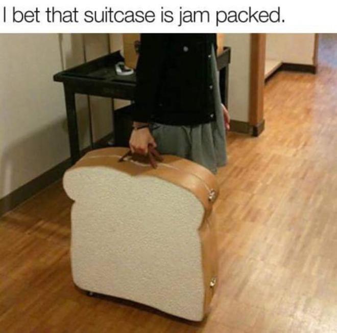 suitcase pun