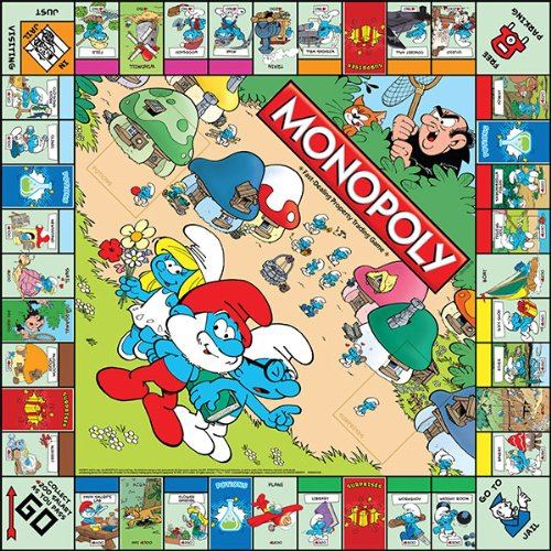 The Smufs Monopoly