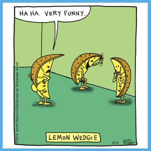Lemon Wedgie Pun