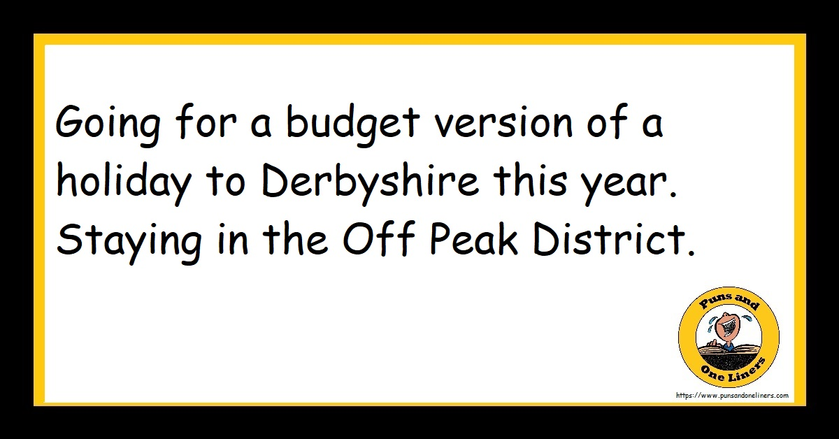 Going for a budget version of a holiday to Derbyshire this year. Staying in the Off Peak District.