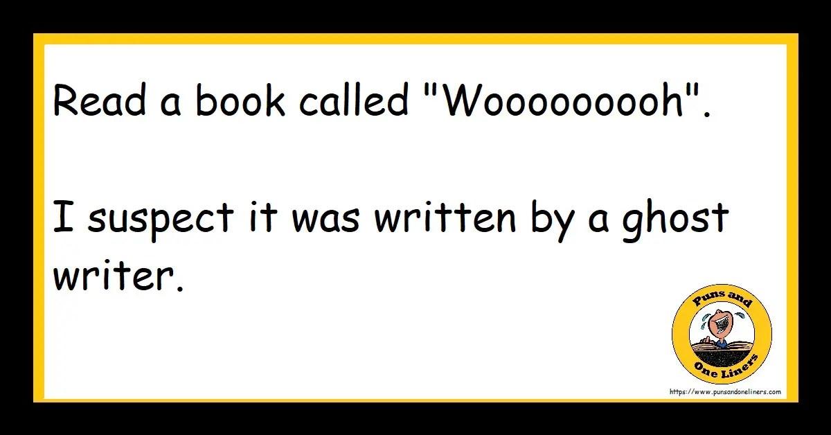 "Read a book called ""Wooooooooh"". I suspect it was written by a ghost writer."