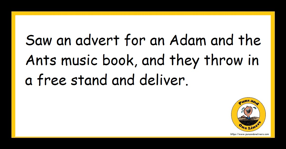 Saw an advert for an Adam and the Ants music book, and they throw in a free stand and deliver.