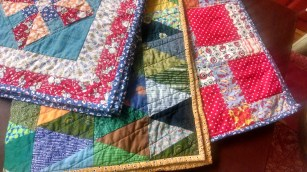 Three quilts