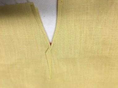 Sleeve split