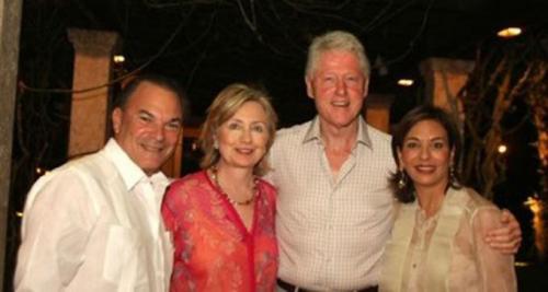 Por su amistad con la familia Rainieri, los Clinton son habituales en Puntacana Resorts & Club