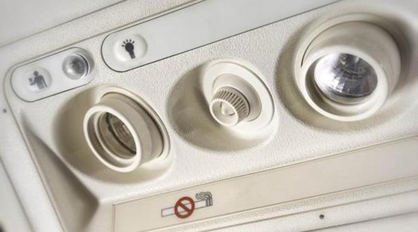 En segundo lugar están los pequeños ventiladores que se ubican arriba de cada asiento (iStock)